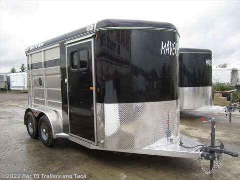 New 2016 Royal T Trailers Maverick Lite 2 Horse Angle Bumper Pull For Sale by Bar T5 Trailers and Tack available in Millarville, Alberta