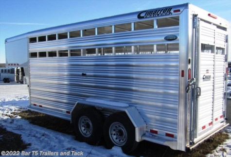 New 2016 Cimarron Lonestar 7' x 16' Stock Gooseneck For Sale by Bar T5 Trailers and Tack available in Millarville, Alberta