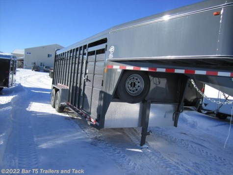 New 2015 Maverick Gooseneck Stock 7x24 HD Stock For Sale by Bar T5 Trailers and Tack available in Millarville, Alberta