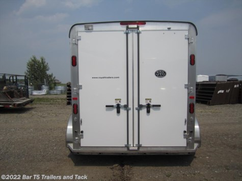 2017 Royal T Trailers Imperial X  2 Horse Angle Bumper Pull