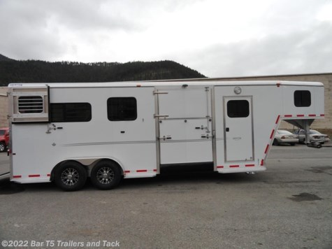 2016 Frontier Fast Track  2+1 Straight Load Warmblood Gooseneck