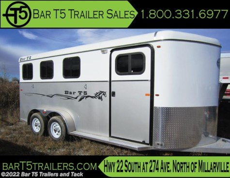 2016 Royal T Trailers Imperial X  Bar T5 model 3 Horse Angle BP w/Rear Tack