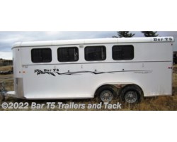 #TBH 337d - 2016 Royal T Trailers Imperial X Bar T5 model 4 Horse Angle Bumper Pull