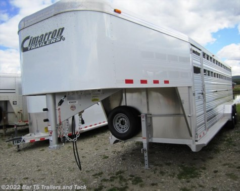 New 2016 Cimarron Lonestar 7' x 20' Stock Gooseneck For Sale by Bar T5 Trailers and Tack available in Millarville, Alberta