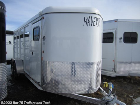 New 2017 Maverick HS Steel 4 Horse Angle Bumper Pull For Sale by Bar T5 Trailers and Tack available in Millarville, Alberta