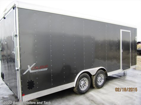 2016 Mirage Xcalibur  MXBR8.520TA3 Car Hauler Enclosed Bumper Pull
