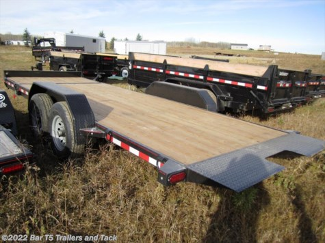 2017 Mirage  MUET718TA5 18' TILT Flatdeck 7k Axles