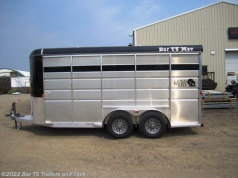2017 Royal T Trailers Maverick Lite  WARMBLOOD 3 Horse Angle Bumper Pull