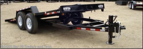 2017 C&B  18' HD Car Trailer Tilt Deck 80