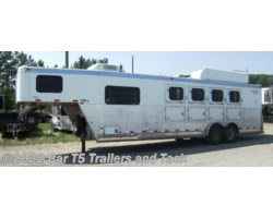 #TGHLQ 1281u - 2005 Integrity Trailers 4 Horse gooseneck with 9' Living Quarters