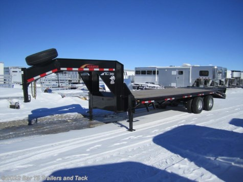 New 2014 Mirage MUGN8.525TA7 20+5 Tandem Dual GN Flatdeck For Sale by Bar T5 Trailers and Tack available in Millarville, Alberta