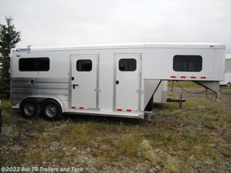 New 2015 Cimarron Norstar 2 Horse VP Straight Haul Gooseneck For Sale by Bar T5 Trailers and Tack available in Millarville, Alberta