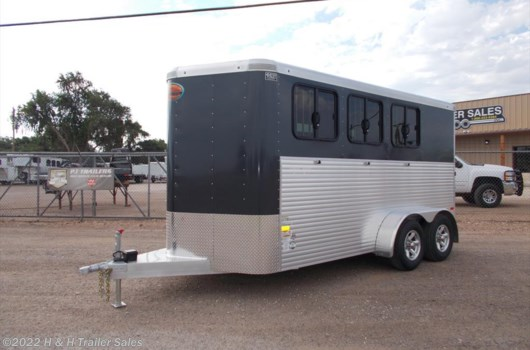 3 Horse Trailer - 2017 Sundowner Super Sport available New in Lubbock, TX