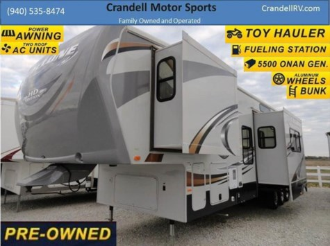 2011 Heartland RV Cyclone  3814