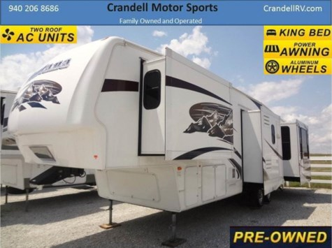 Used 2008 Keystone Montana 3600RE For Sale by Crandell Motor Sports available in Denton, Texas