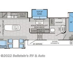 2016 Jayco North Point 377RLBH floorplan image