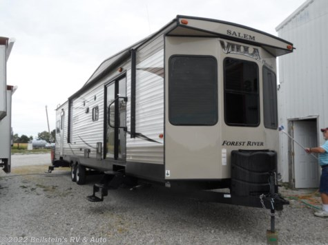 Used 2017 Forest River Salem Villa 39FDEN For Sale by Beilstein's RV & Auto available in Palmyra, Missouri