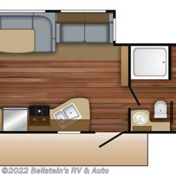 2018 Jayco Jay Flight 29BHDB floorplan image