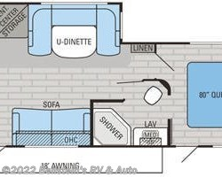 2016 Jayco Jay Flight 26RKS floorplan image