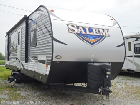 Used 2018 Forest River Salem 27RKSS For Sale by Beilstein's RV & Auto available in Palmyra, Missouri
