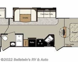 2012 Keystone Passport Ultra Lite Grand Touring 3220BH floorplan image