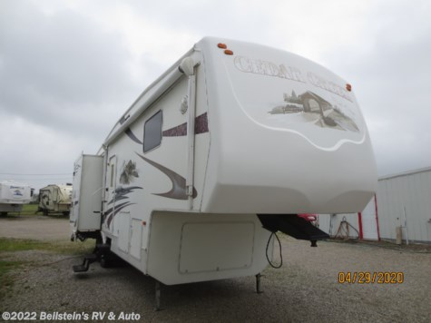Used 2006 Forest River Cedar Creek For Sale by Beilstein's RV & Auto available in Palmyra, Missouri