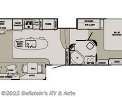 2014 Redwood RV Redwood RW38RL floorplan image