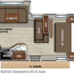 2020 Jayco Jay Flight 24RBS floorplan image