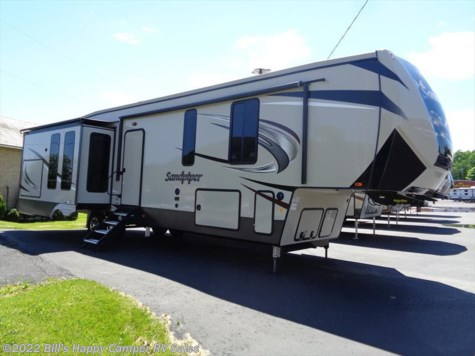New 2019 Forest River Sandpiper 367DSOK For Sale by Bill's Happy Camper RV Sales available in Mill Hall, Pennsylvania