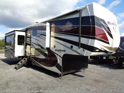 New 2019 Forest River Riverstone Legacy 38FB2 For Sale by Bill's Happy Camper RV Sales available in Mill Hall, Pennsylvania