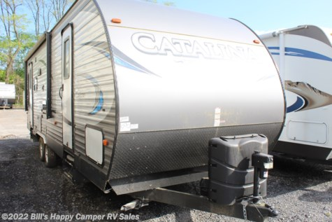 Used 2018 Coachmen Catalina 263RLS For Sale by Bill's Happy Camper RV Sales available in Mill Hall, Pennsylvania