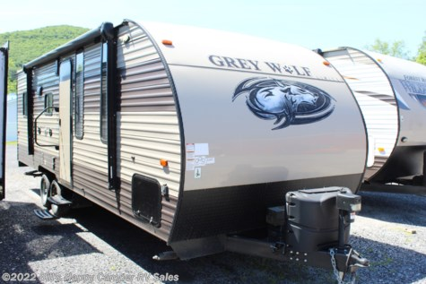 Used 2017 Forest River Grey Wolf 22RR For Sale by Bill's Happy Camper RV Sales available in Mill Hall, Pennsylvania
