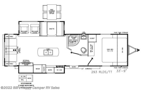New 2020 Coachmen Catalina 293RLDS For Sale by Bill's Happy Camper RV Sales available in Mill Hall, Pennsylvania