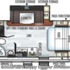 2020 Forest River Rockwood Mini Lite 2104S floorplan image