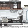2020 Forest River Rockwood Ultra Lite 2606WS floorplan image
