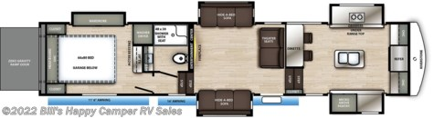 New 2020 Forest River RiverStone 39FKTH For Sale by Bill's Happy Camper RV Sales available in Mill Hall, Pennsylvania