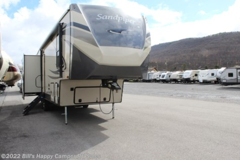 New 2021 Forest River Sandpiper 3220RL For Sale by Bill's Happy Camper RV Sales available in Mill Hall, Pennsylvania
