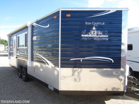 01 2009 carry on 6x14 fish n camp for sale in for Used fish houses for sale mn