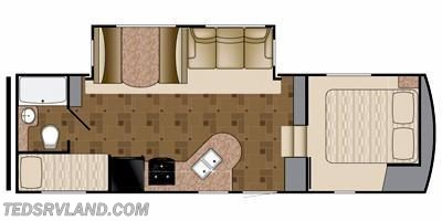 2011 Heartland RV Prowler 26PS FB floorplan image
