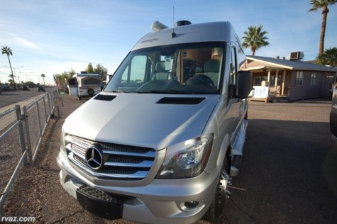 2018 Pleasure-Way Plateau  TS Mercedes Sprinter Class B