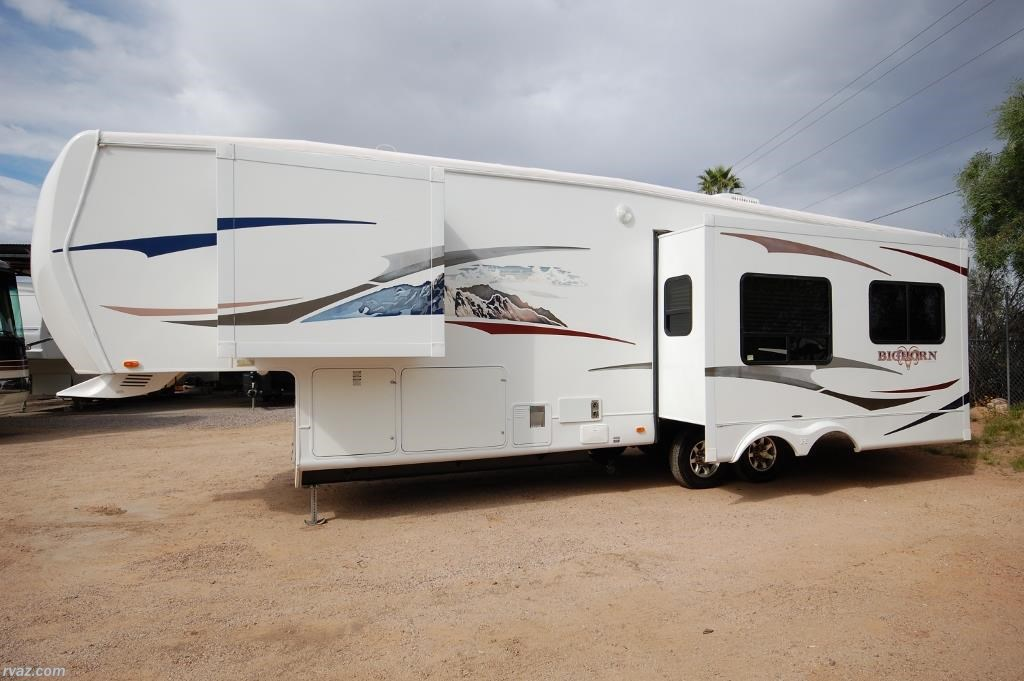27592009 Heartland RV Bighorn 3100RL Triple Slide for sale in