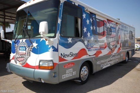 2017 Newmar Dutch Star  Helping Hands for Freedom Raffle RV 2000 model
