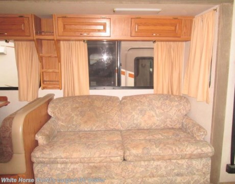 Mh9955 2000 national rv dolphin 5360 hide a bed sofa dinette slide for sale in egg harbor Rv hide a bed couch