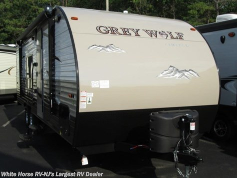 2016 Forest River Grey Wolf  25RR Front Queen Rear Garage with Ramp Door