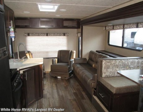 Fr1782 2016 forest river cherokee grey wolf 26rl rear - Front living room travel trailers ...