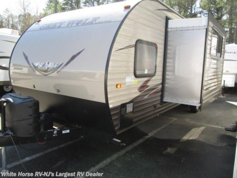 2016 Forest River Grey Wolf  27RR Slide-out with Enclosed 8x11' Garage