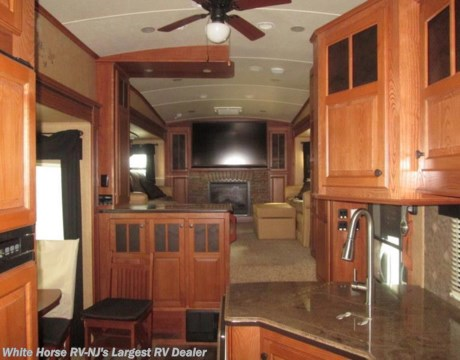 P1786 2013 Jayco Pinnacle 38flfs Front Living Room Five Slide For Sale In Egg Harbor City Nj