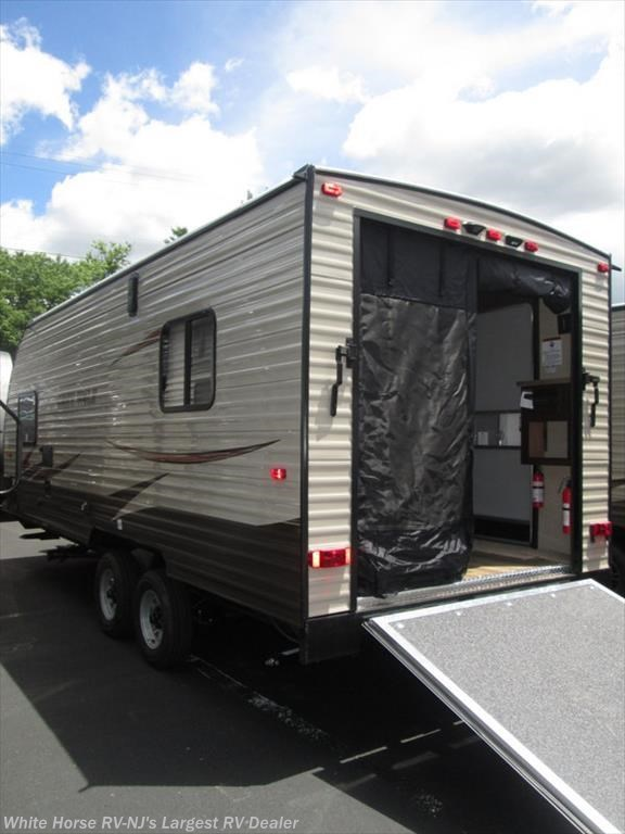 2017 forest river rv grey wolf 19rr front queen rear garage with ramp door for sale in egg for Rv garage doors for sale