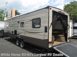New 2017  Forest River Grey Wolf 26RR Front Queen Rear Garage with Ramp Door by Forest River from White Horse RV Center in Egg Harbor City, NJ