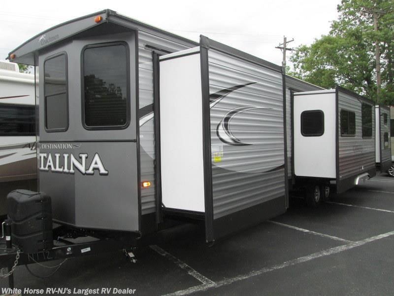 Similar RVs For Sale. 2018 Coachmen Catalina Destination 40TSHB Triple  Slide 2 BdRM 1 1/2 Baths